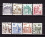 GERMANIA G913-19 Uzuale 1977-Orase si cetati din germania