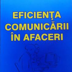 EFICIENTA COMUNICARII IN AFACERI - Dan Popescu - Carte afaceri