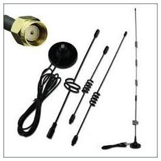Antena 3G, conector RP-SMA, 16 DBi - Antena GSM