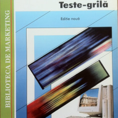 MARKETING TESTE GRILA - Virgil Balaure - Carte Marketing