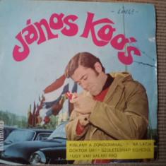 Janos koos slagare Muzica Pop electrecord disc single vinyl al imre anii 60, VINIL