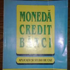 Carte - Cezar Basno, Nicolae Dardac, Constantin Floricel - Moneda, credit, banci - Aplicatii si studii de caz