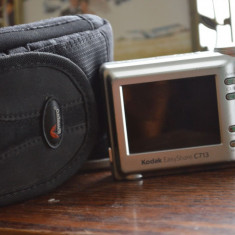 Kodak C713 + Husa - Aparat Foto compacte Kodak, Compact, 8 Mpx, 3x, Sub 2.4 inch