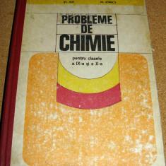 PROBLEME DE CHIMIE ( pentru clasele a IX si a X a ) - Ilie / Ionica