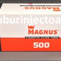 Tuburi tigari MAGNUS 500 filtru rosu - Foite tigari