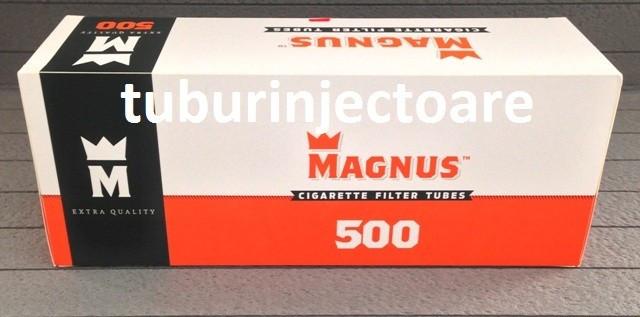 Tuburi tigari MAGNUS 500 filtru rosu foto mare