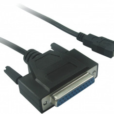 Adaptor USB la paralel (port de imprimanta) 25 pini DB-25F compatibil Windows 10