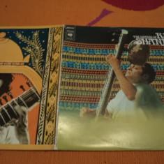 Ravi Shankar Genius Of ravi sitar dublu disc vinyl 2 LP cbs records muzica 1972 - Muzica Ambientala, VINIL