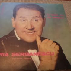 HORIA SERBANESCU LA MULTI ANI CU VESELIE momente vesele album disc vinyl lp - Muzica Pop electrecord, VINIL