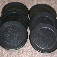 Suport pahare - ceramica neagra - 6 persoane - Arta Ceramica