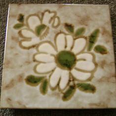 Decoratiune bucatarie / Suport oala - faianta - marcata
