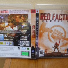 Red Faction: Guerrilla (PS3) (ALVio) + sute de alte Jocuri PS3 Thq originale (VAND / SCHIMB), Strategie, 16+, Single player