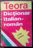 Carte - Dictionar italian-roman - 15000 cuvinte