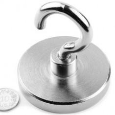 Magnet puternic Neodim oala forta prindere 110 KG la contact 63 mm Puternic