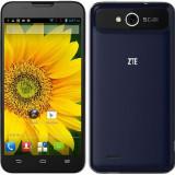 Vand / Schimb telefon ZTE v967s - Telefon mobil ZTE, Albastru, 4GB, Neblocat, Dual SIM, Quad core