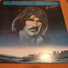 Jim Capaldi Electric Nights ex traffic album disc vinyl lp Muzica Pop Polygram rock 1979, VINIL