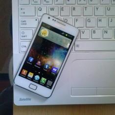 Samsung Galaxy S2 white impecabil - Telefon mobil Samsung Galaxy S2, Alb, 16GB, Neblocat