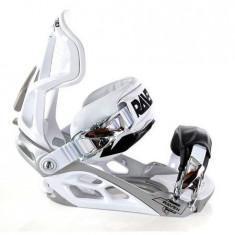 Legaturi Snowboard Raven Team White / Black L NOI - Boots snowboard