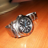 Stainless steel back water resistant swiss made. - Ceas barbatesc