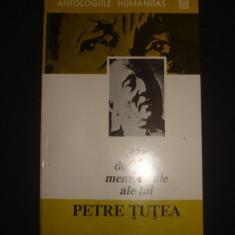 321 DE VORBE MEMORABILE ALE LUI PETRE TUTEA {1993}