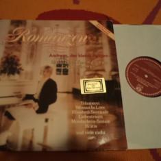 Andreas der kleine Mozart Romanzen album disc vinyl muzica clasica vest 1981 lp, VINIL