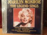MARILYN MONROE - THE LEGEND SINGS  ( 2002) -cd nou/sigilat