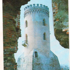 Carte postala(ilustrata)-TARGOVISTE- Turnul Chindiei
