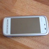 NOKIA 5230 - smartphone cu GPS offline gratuit - Telefon mobil Nokia 5230, Gri, Neblocat