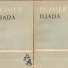 Homer-Iliada*2 vol. - Carte mitologie