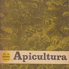 revista APICULTURA nr.11,nov..,1969