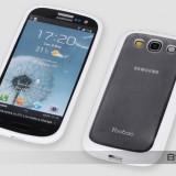 Husa Samsung Galaxy S3 i9300 TPU + Folie by Yoobao Originala White