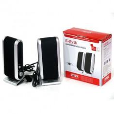 Boxe calculator Intex IT alimentare Priza 220 sau alimentare USB, 2.0, 0-40W, Hercules