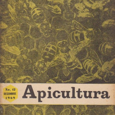 revista APICULTURA nr.12,dec.,1969