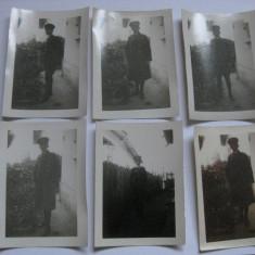6 FOTOGRAFII OFITER ROMAN DIN 1931 - Fotografie veche