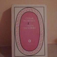 Cezar Petrescu - Calea Victoriei - Roman, Anul publicarii: 1982