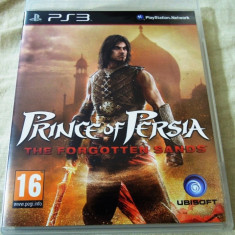 Joc Prince of Persia the Forgotten Sands, PS3, original, alte sute de jocuri! - Jocuri PS3 Ubisoft, Actiune, 12+, Single player