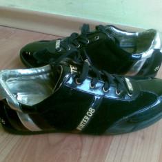 Adidasi din piele firma Bata marimea 41, sunt noi! - Adidasi dama Bata, Culoare: Negru, Negru