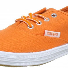 38_Tenisi originali Kappa_adidasi femei_din panza_orange_in cutie - Tenisi dama Kappa, Textil