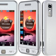 Vand Samsung s5230 Alb - Telefon mobil Samsung Star S5230, Neblocat