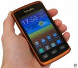Telefon Mobil Samsung S5690 Galaxy Xcover Black Orange, Negru, Neblocat, 2.8''