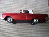 Masinuta auto jucarie din tabla fire chief made in china chinezeasca anii 80