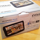 GPS Evolio HI Speed Plus 664 MHz cu tipla pe ecran instalat cu IGO Primo 2.4, 4, 3, Toata Europa, peste 32 canale, Comanda vocala: 1, Redare audio: 1