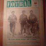 Ziarul fotbal 2 mai 1973 (meciul de fotbal albania -romania si etapa a 22-a a diviziei nationale de fotbal )