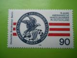 BERLIN GERMANIA 75 ANI CAMERA DE COMERT AMERICANA IN GERMANIA   - 1 VAL   .-  MNH  393 F, Europa