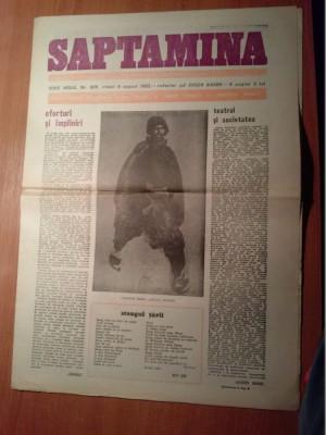 ziarul saptamana 6 august 1982 foto