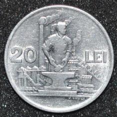 1890 ROMANIA 20 LEI 1951 RPR. FOARTE FRUMOASA ! - Moneda Romania