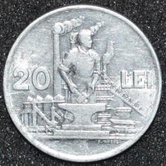 1891 ROMANIA 20 LEI 1951 RPR. FOARTE FRUMOASA ! - Moneda Romania