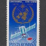 Romania.1973 Centenarul Organizatiilor Meteorologice FB.136 - Timbre Romania