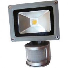 Proiector cu LED si senzor 10W - Corp de iluminat, Proiectoare