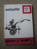 motocultor eltim 4 mc 1 exploatare intretinere electrometal timisoara IPBT 1983
